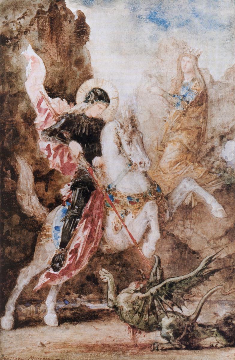 Гюстав Моро. Святой Георгий