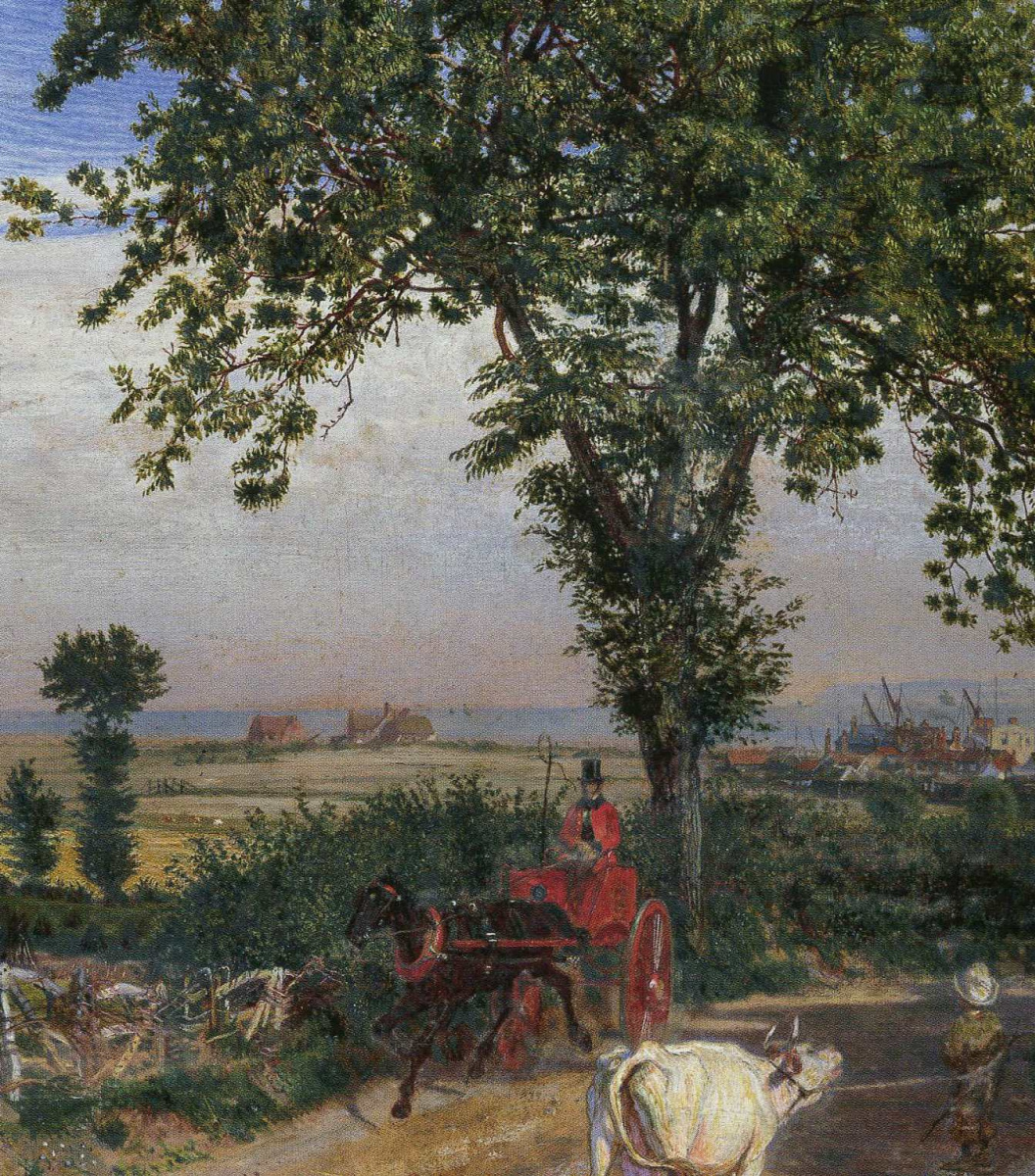 Ford Madox Brown. Southend, Essex. Fragment