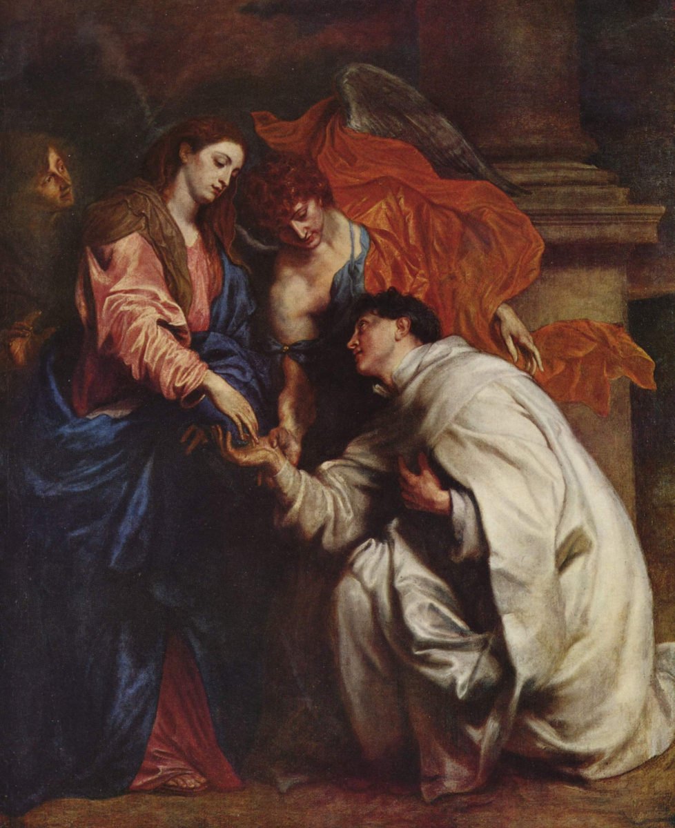 Антонис ван Дейк. Видение священника Германа Йозефа