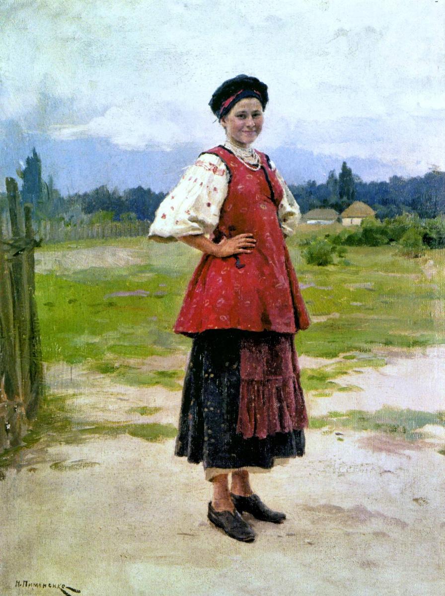 Николай Корнильевич Пимоненко. Молодица