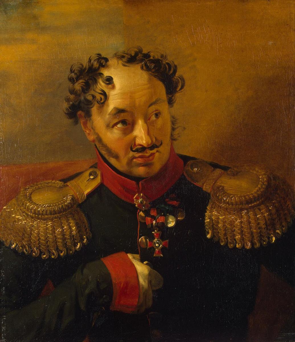 George Dow. Portrait of Alexander Nikolaevich Ryleev