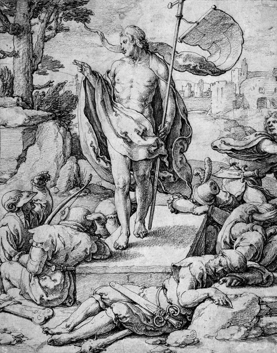 Лукас ван Лейден (Лука Лейденский). Воскресение