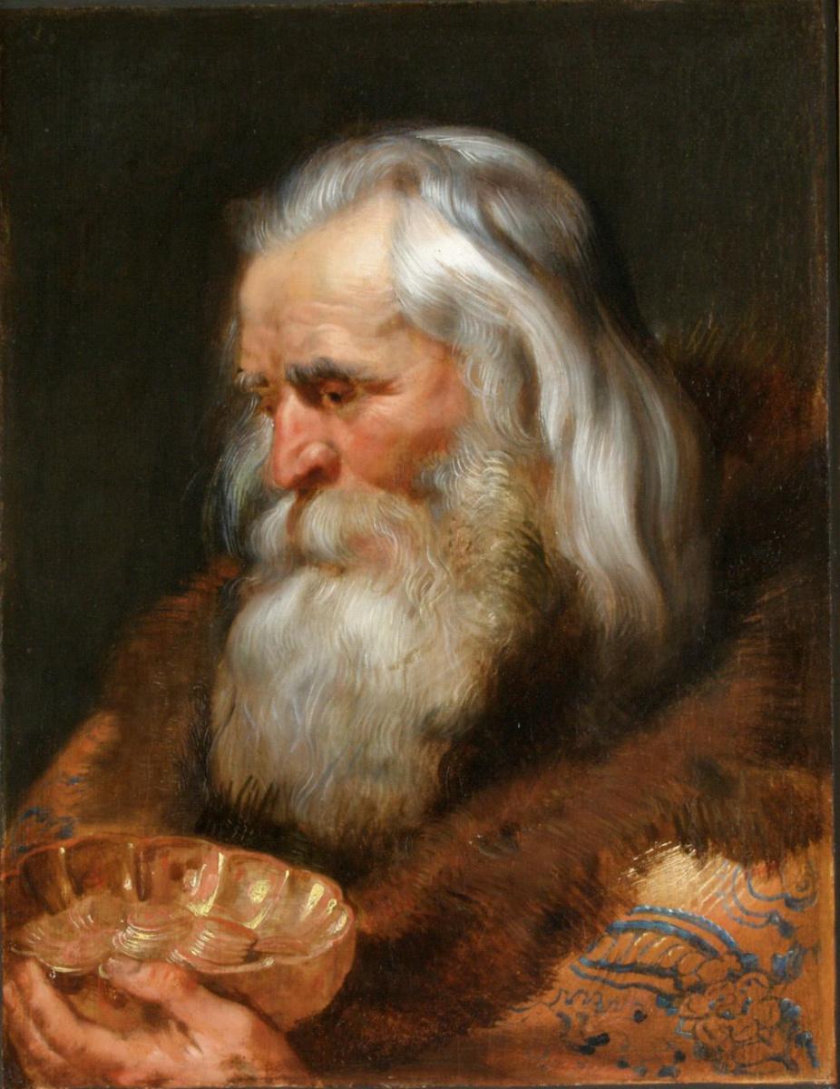 Питер Пауль Рубенс. Один из трех Волхвов (Гаспар)