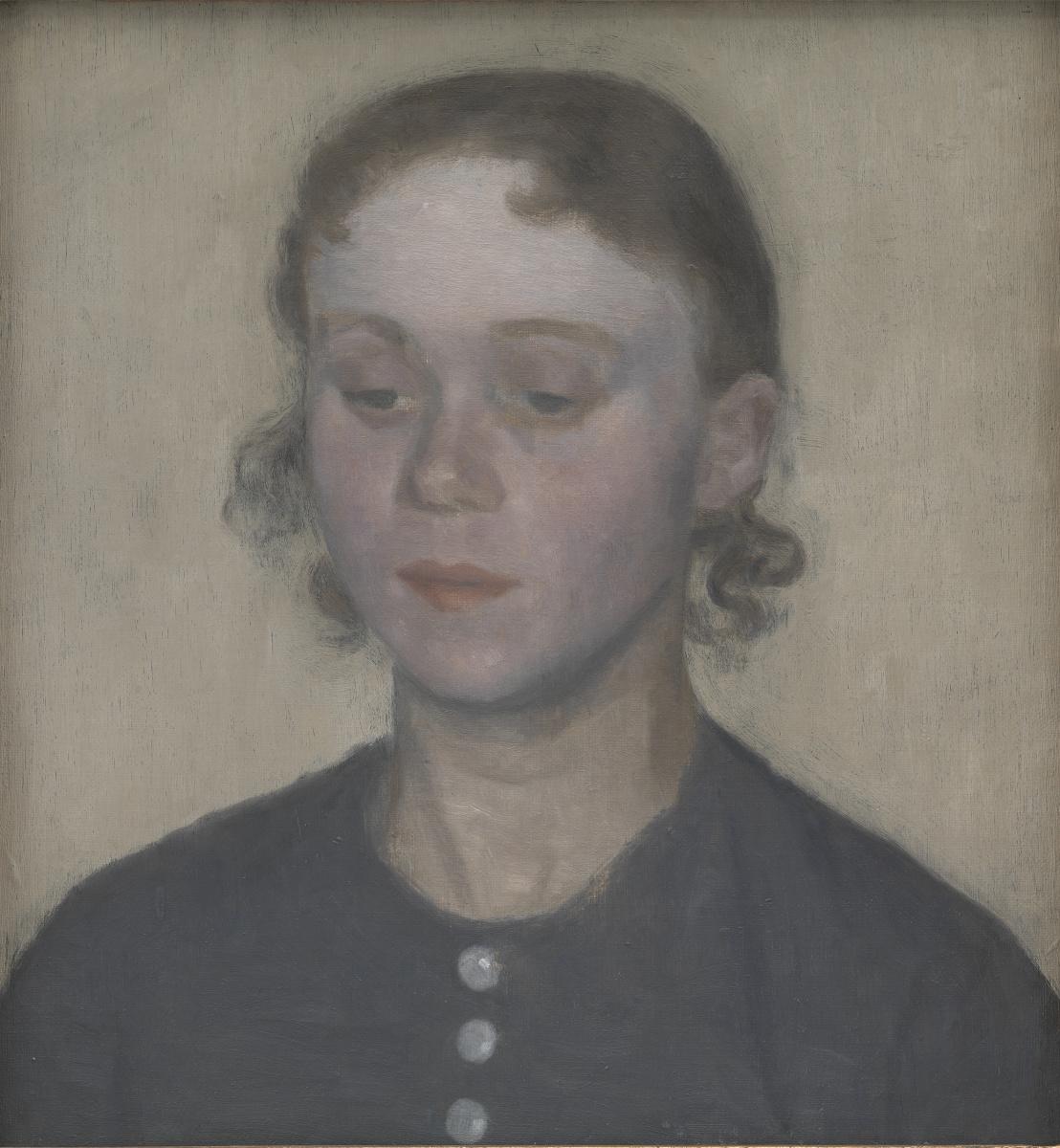 Вильгельм Хаммерсхёй. Ида Хаммерсхёй, жена художника
