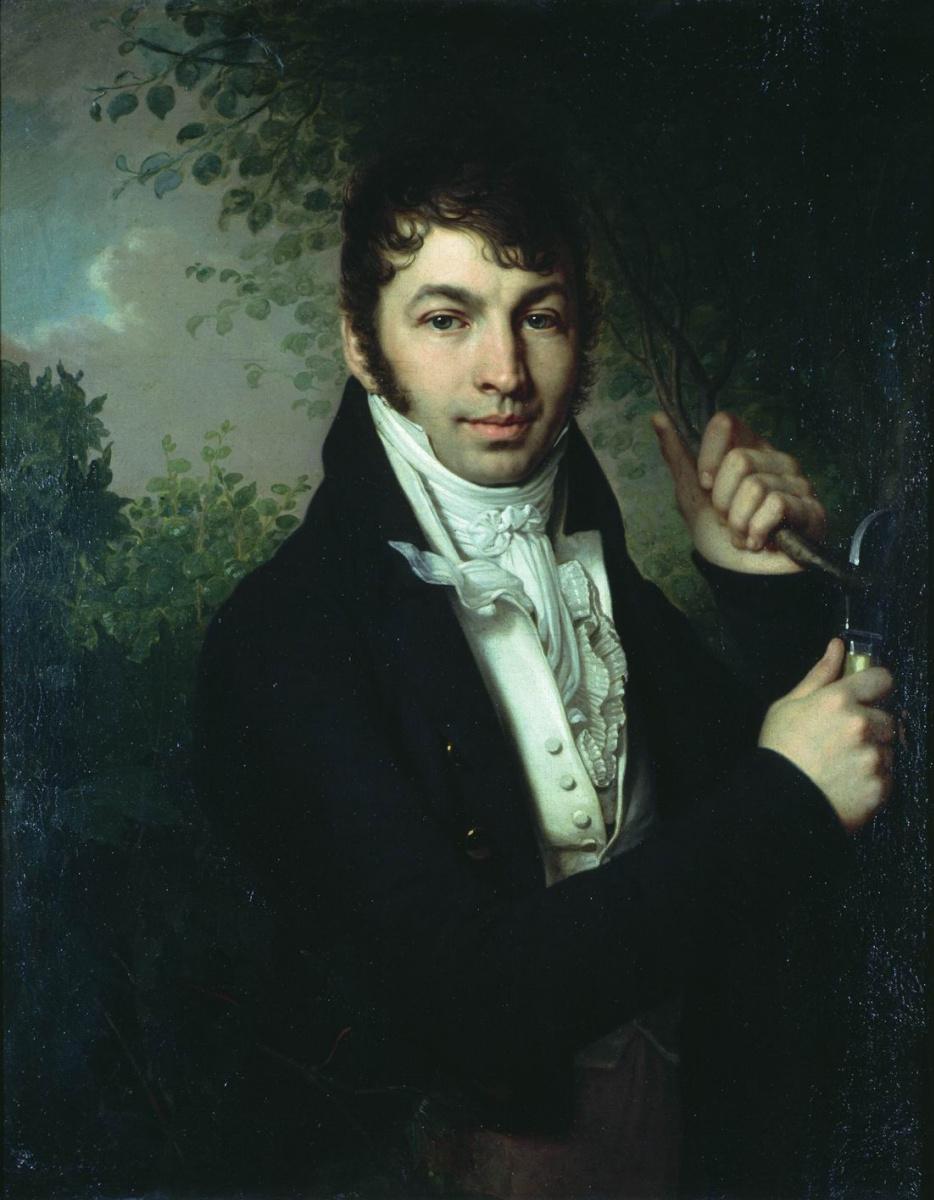 Владимир Лукич Боровиковский. Портрет А. П. Дубовицкого. Между 1816 и 1821