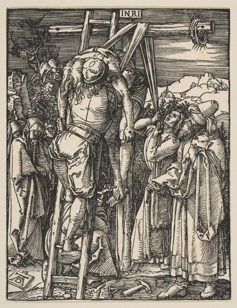 Альбрехт Дюрер. Снятие с креста