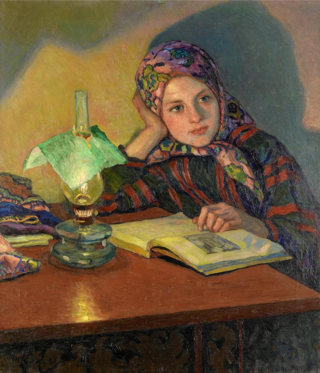 Nikolay Petrovich Bogdanov-Belsky. Inspiration