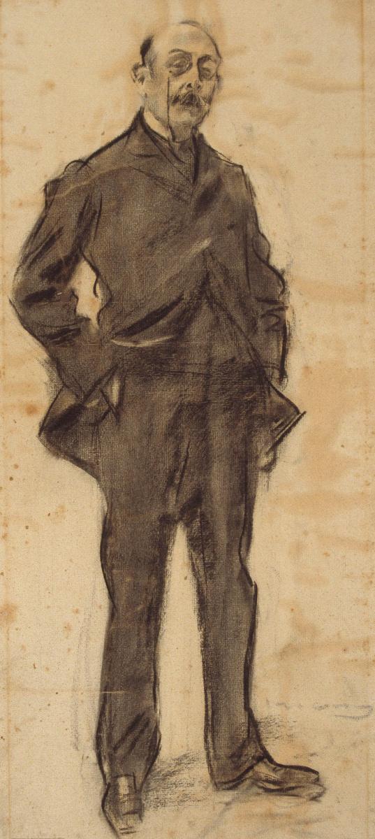 Рамон Касас Карбо. Портрет Иезекиля Бокзета