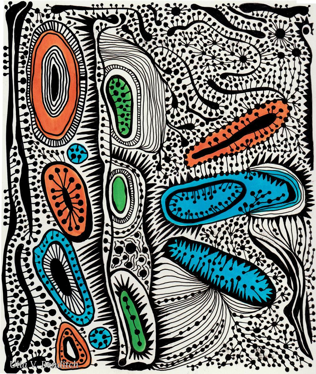 Ulia V. Benditch. Color collection