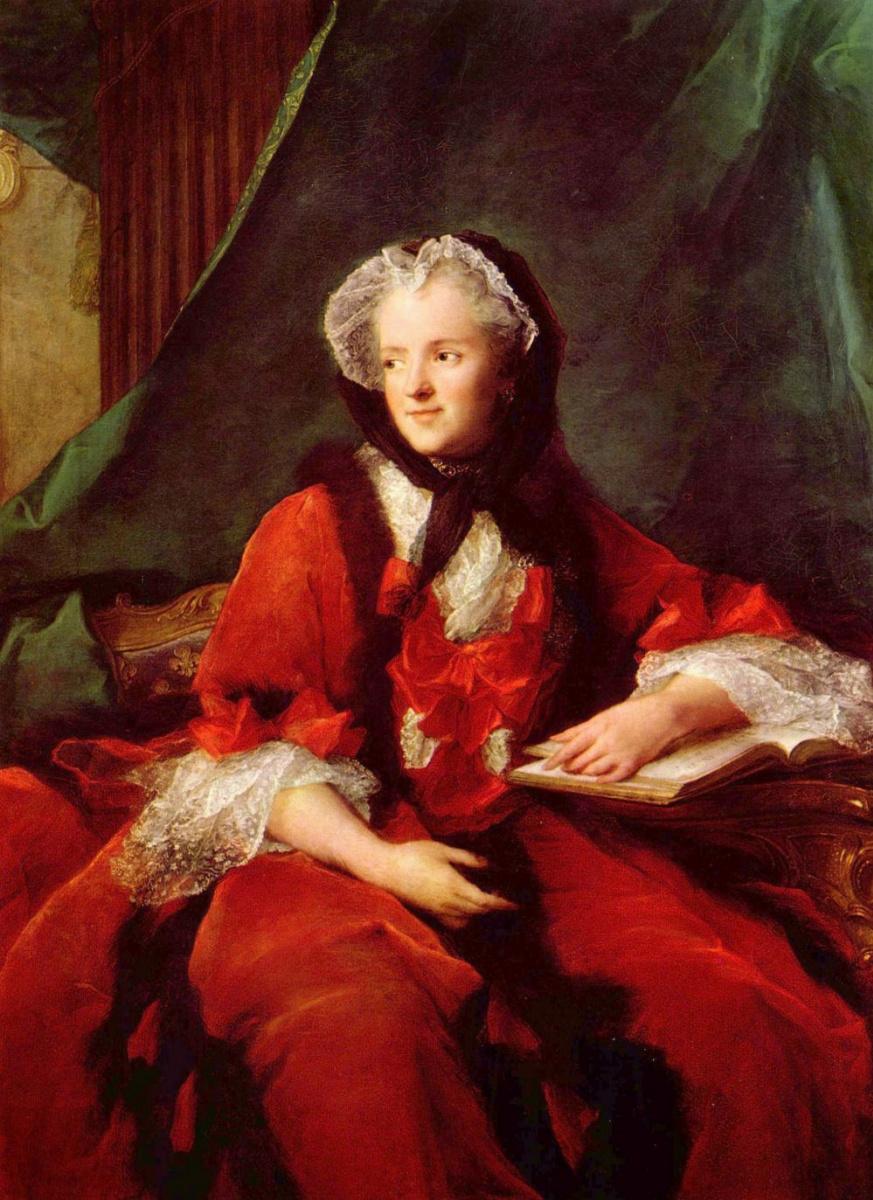 Жан-Марк Наттье. Портрет королевы Марии Лещинской