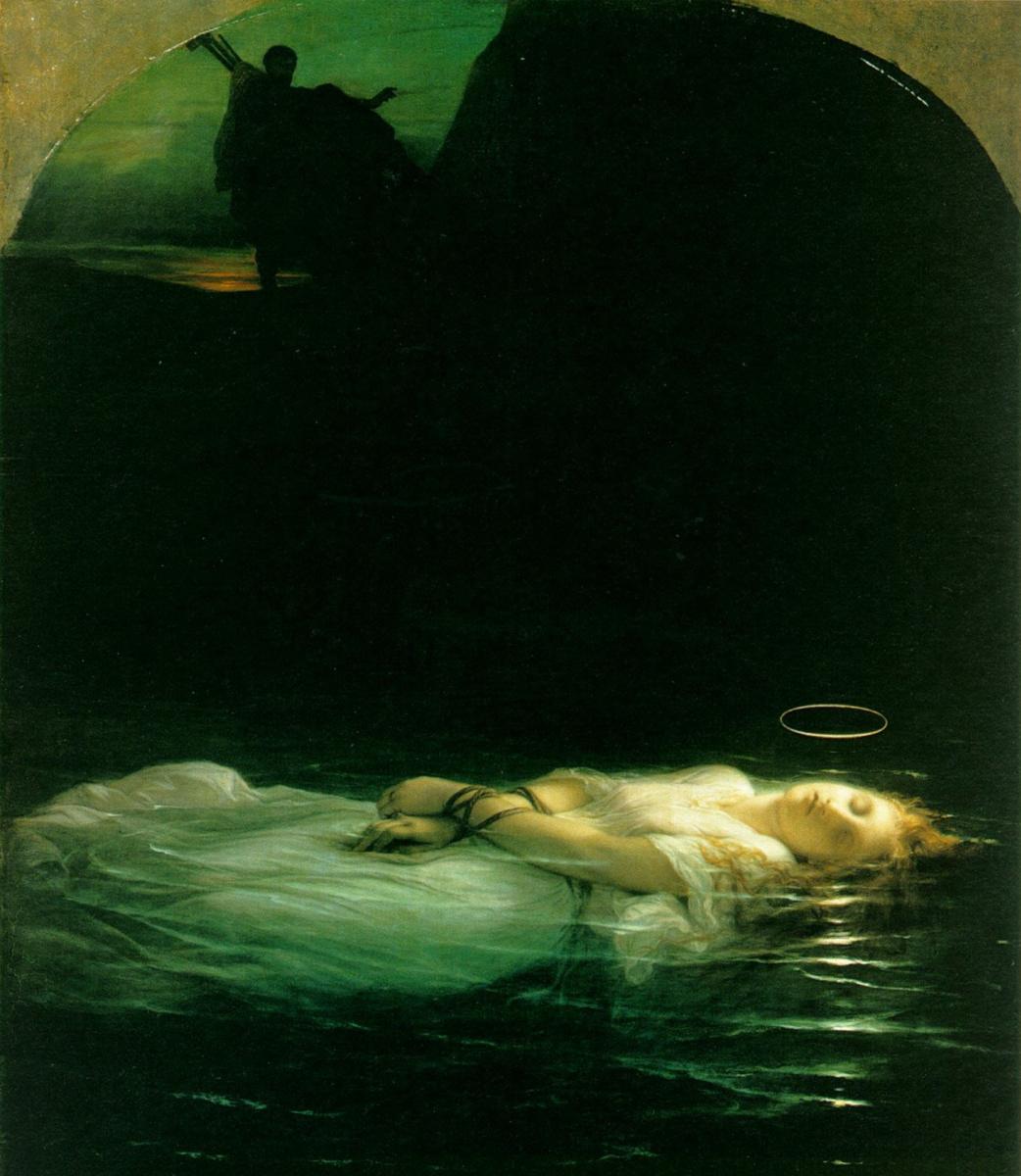 Paul Delaroche. Ophelia