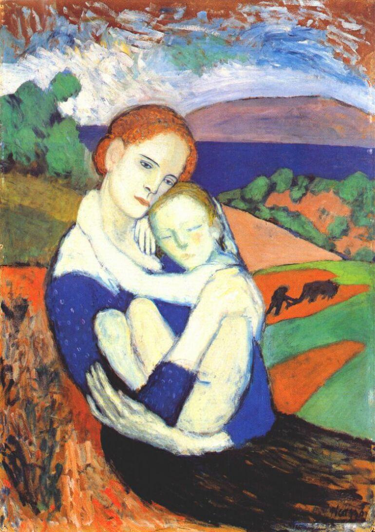 Пабло Пикассо. Мать и ребенок