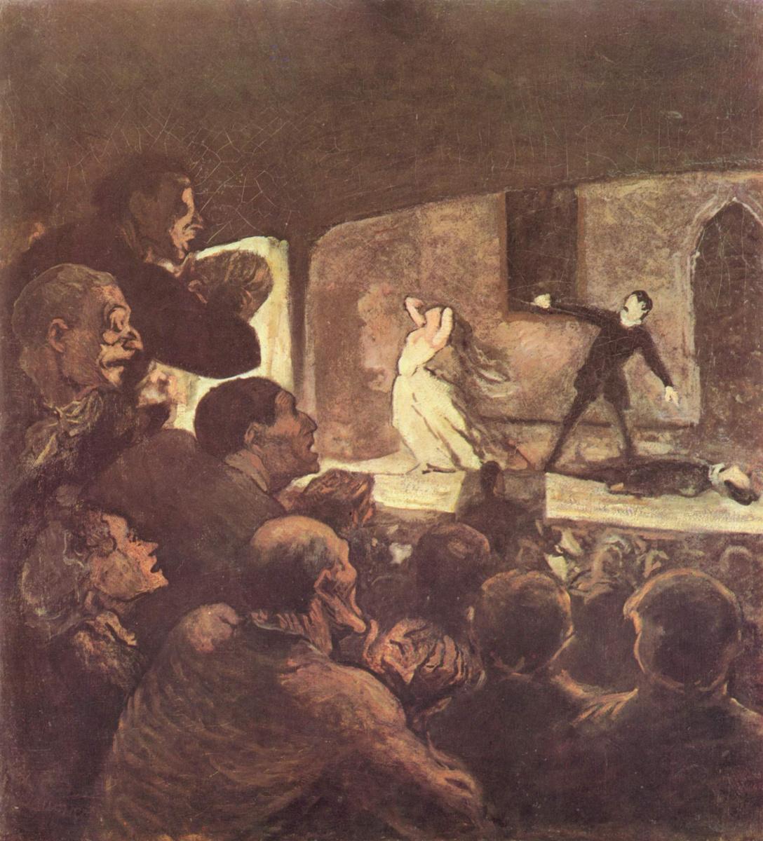Honore Daumier. Romance