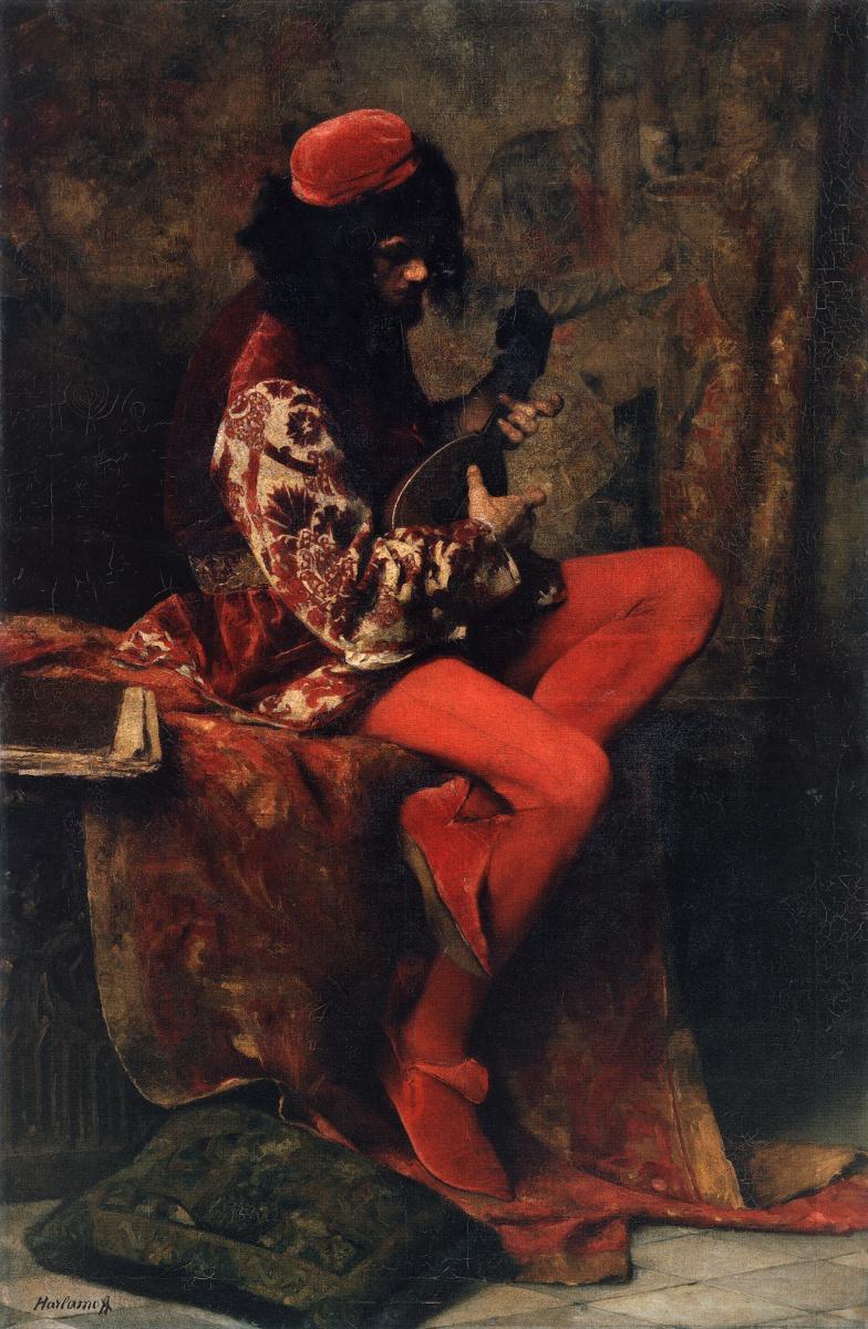 Алексей Алексеевич Харламов. Музыкант-неаполитанец