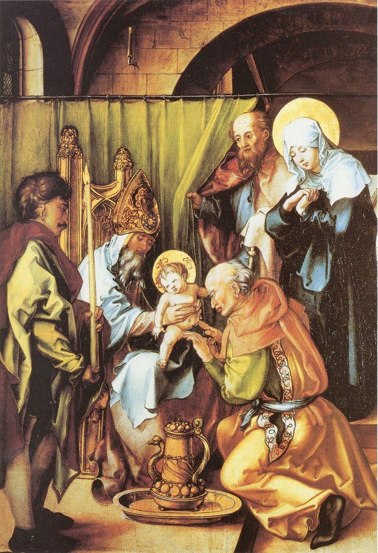Альбрехт Дюрер. Обрезание Христа