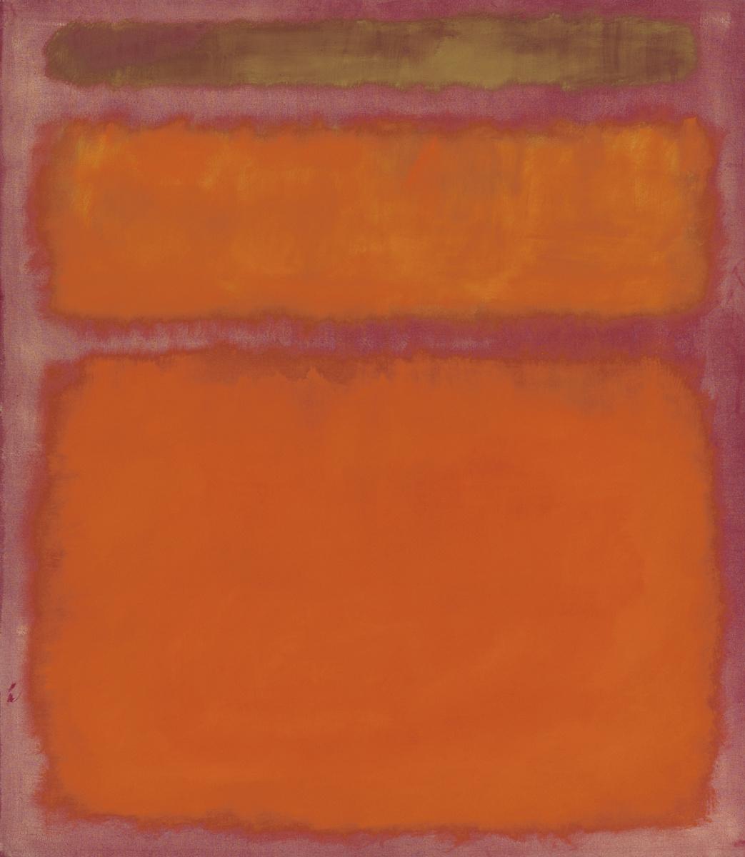 Rothko Mark. Orange, red, yellow