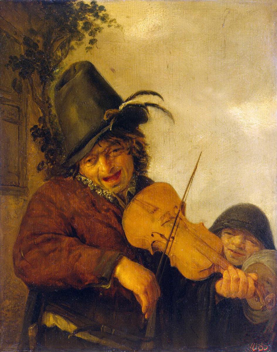 Адриан ван Остаде. Странствующий музыкант