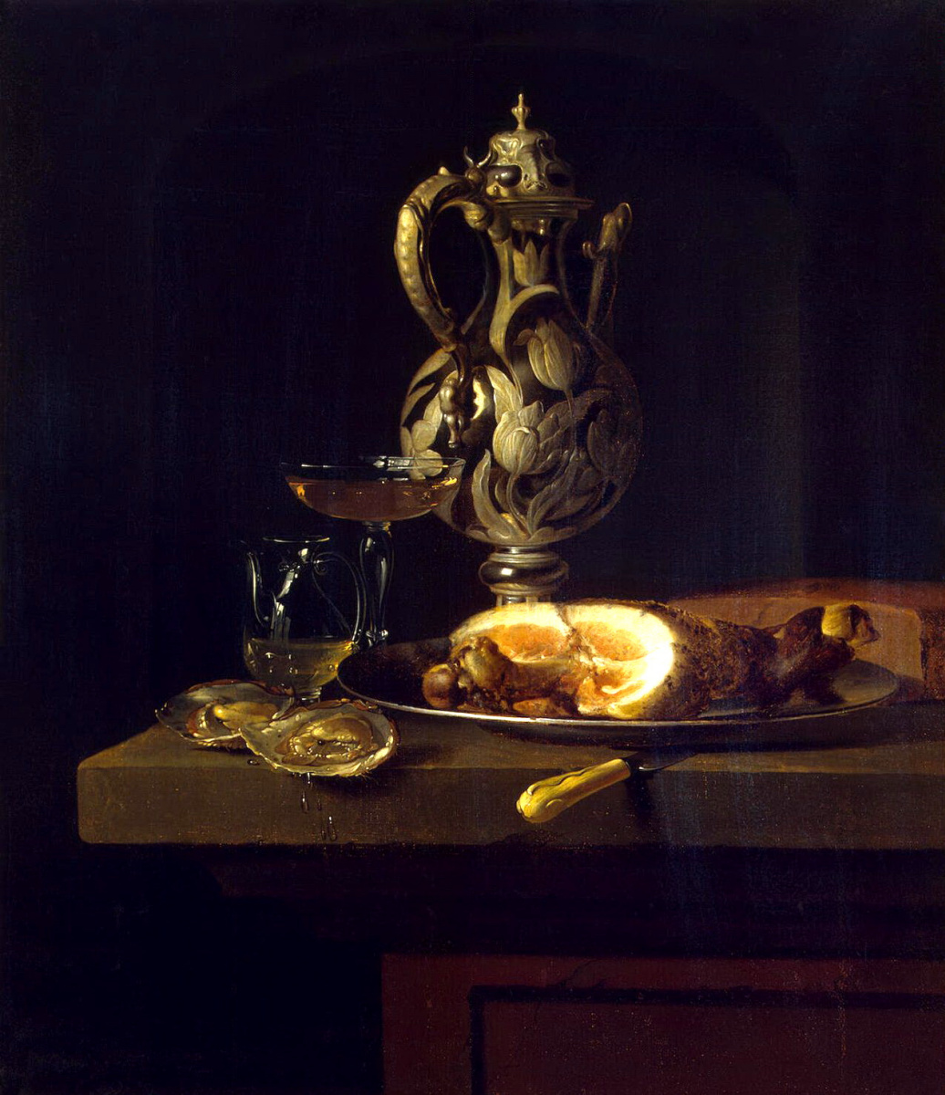 Симон Луттихейс. Завтрак с окороком