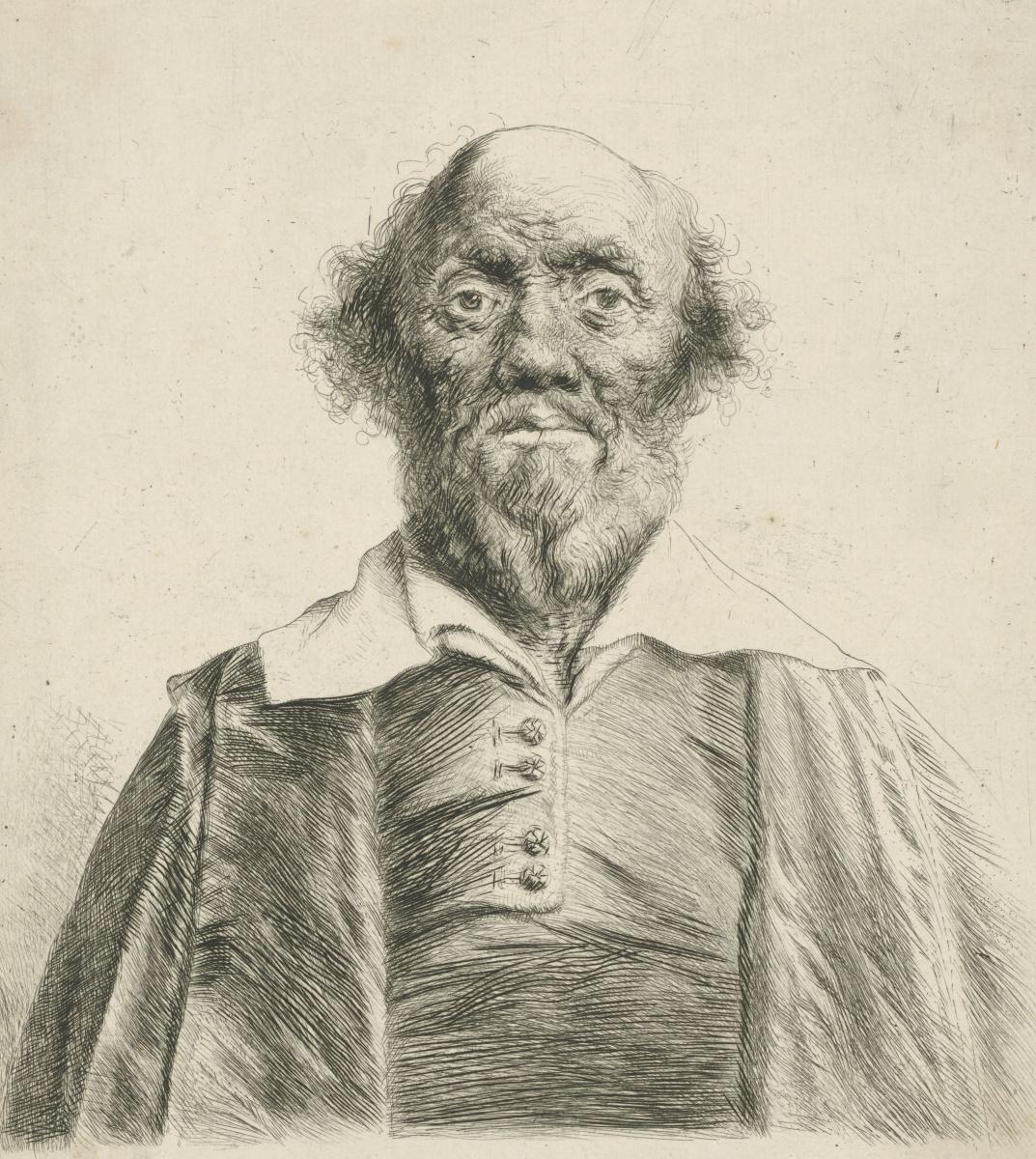 Ян Ливенс. Портрет пожилого мужчины в сюртуке
