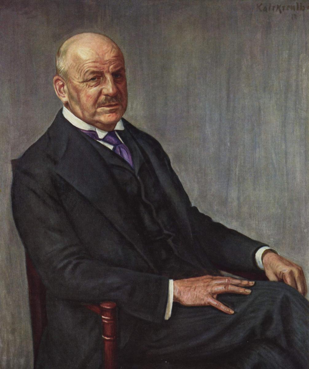 Leopold Karl Walter Graf von Kalkreuth. A Portrait Of Alfred Lichtwark