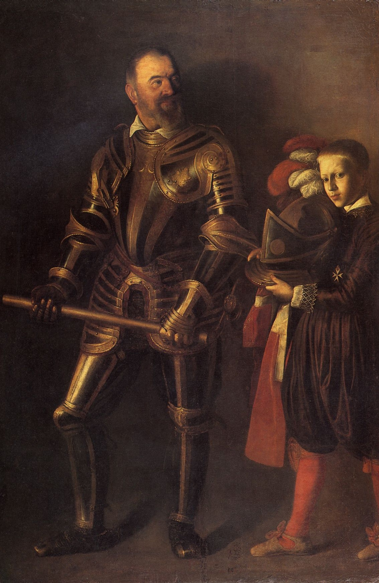 Michelangelo Merisi de Caravaggio. Portrait'alofa de Vignancour