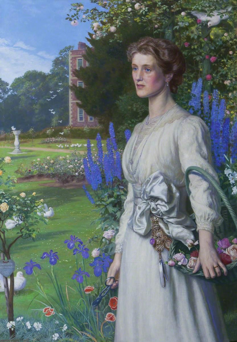 Arthur Hughes. Margaret Lushington, Mrs. Stephen Langton Massingard