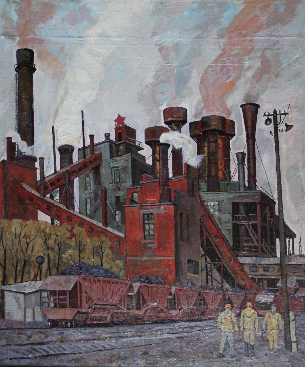 Eugene Alexandrovich Kazantsev. Sinter factory, the city of Serov.