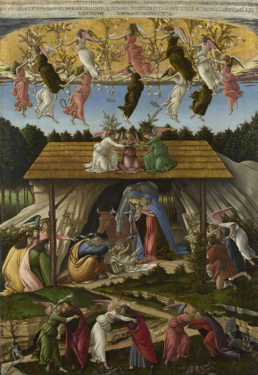 Sandro Botticelli. Mystical Christmas