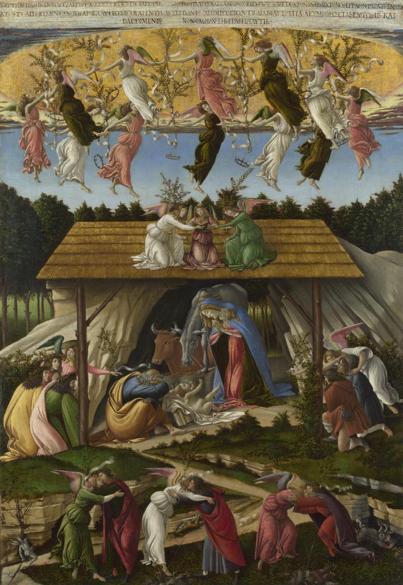 Sandro Botticelli. Mystical Christmas