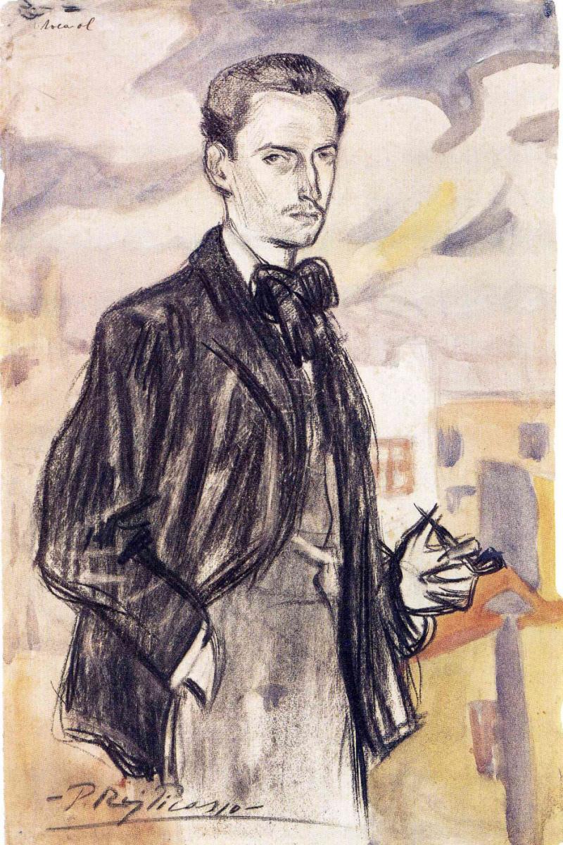 Пабло Пикассо. Портрет Джозепа Рокарола