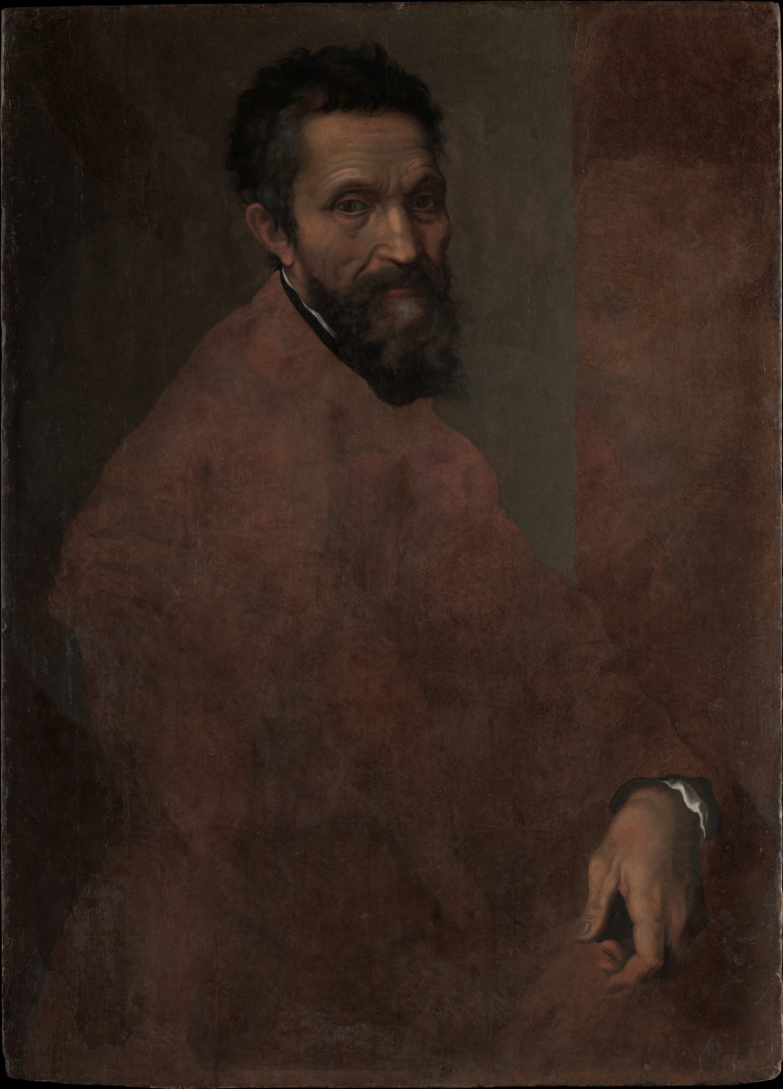 Daniele Yes Volterra. Portrait Of Michelangelo Buonarroti