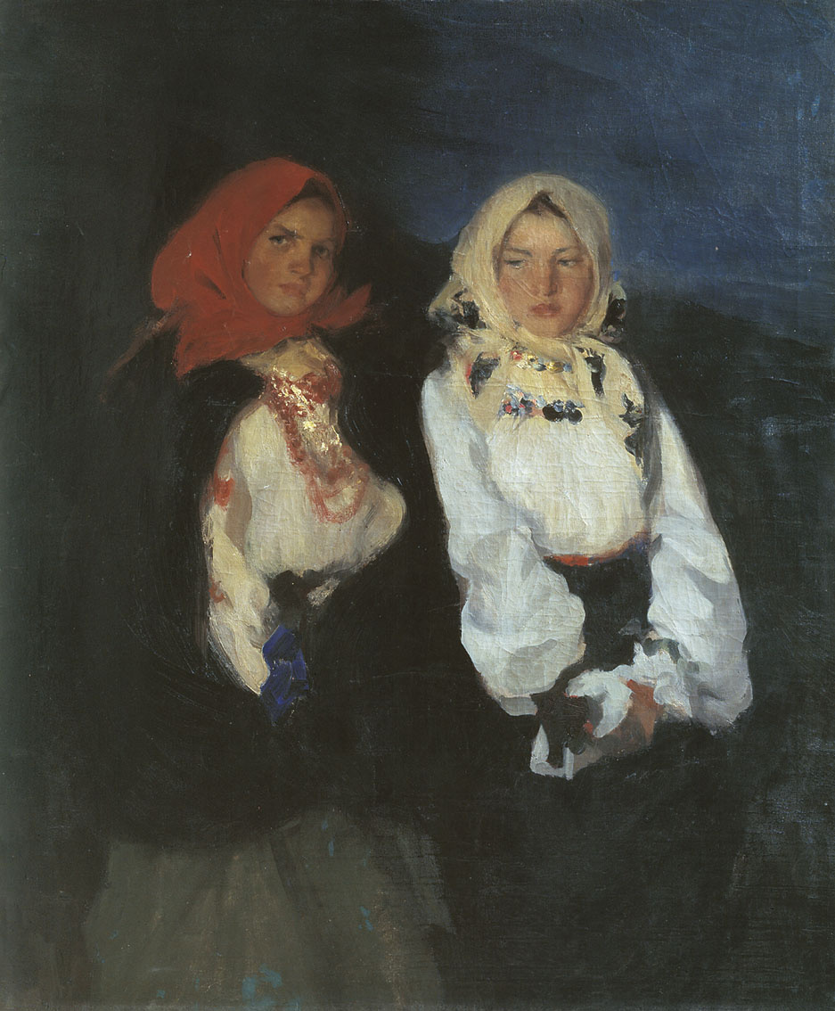 Павел Дмитриевич Шмаров Россия - Франция 1874 - 1950. Сельские девушки.