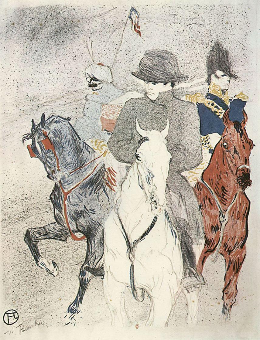 Анри де Тулуз-Лотрек. Наполеон