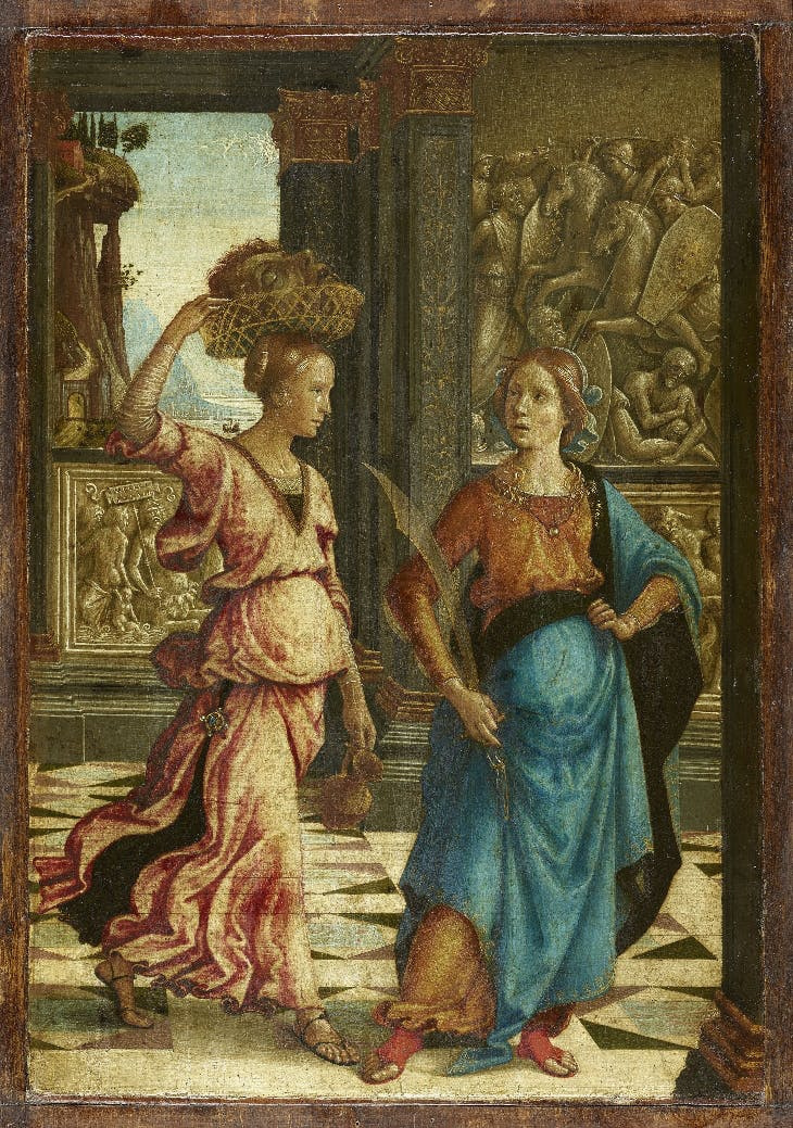 Domenico Girlandajo. Judith with a maid