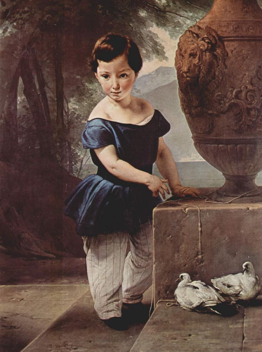 Франческо Айец. Портрет дона Джулио Вигони ребёнком