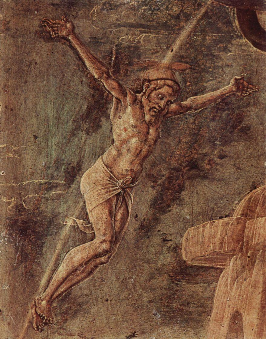 Козимо Тура. Распятый Христос