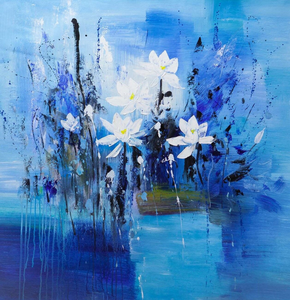 """Brian dupre. """"Flowers. Five White"""""""