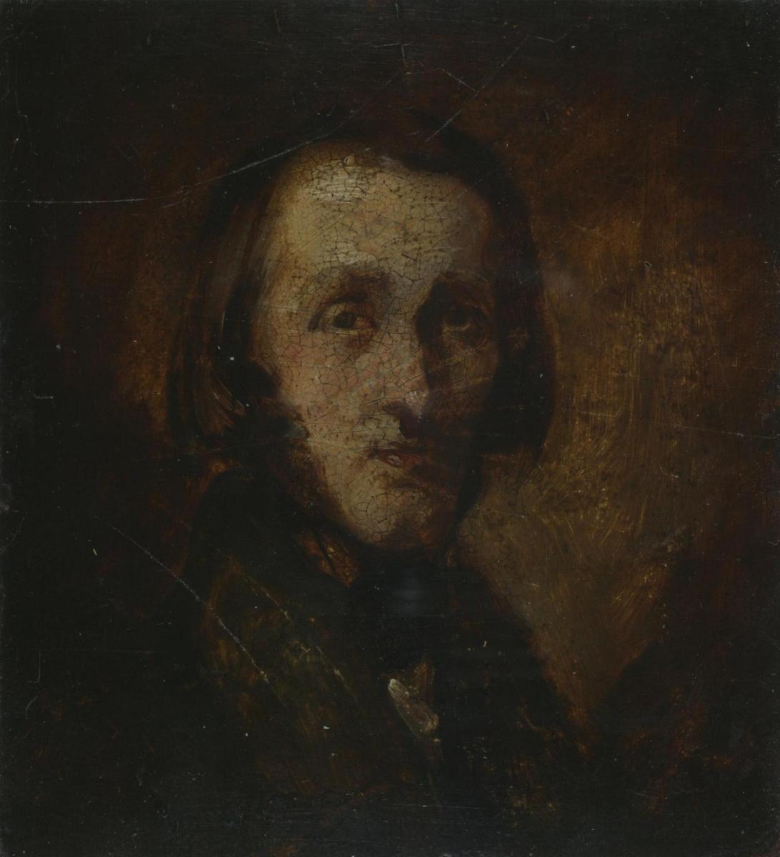 Ричард Дадд. Portrait of a Man