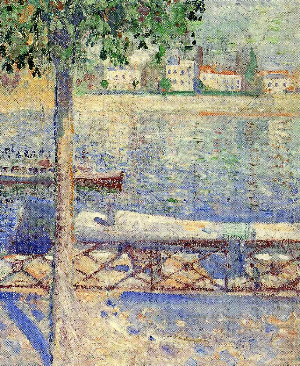 Edvard Munch. View from a boat in Saint-cloud