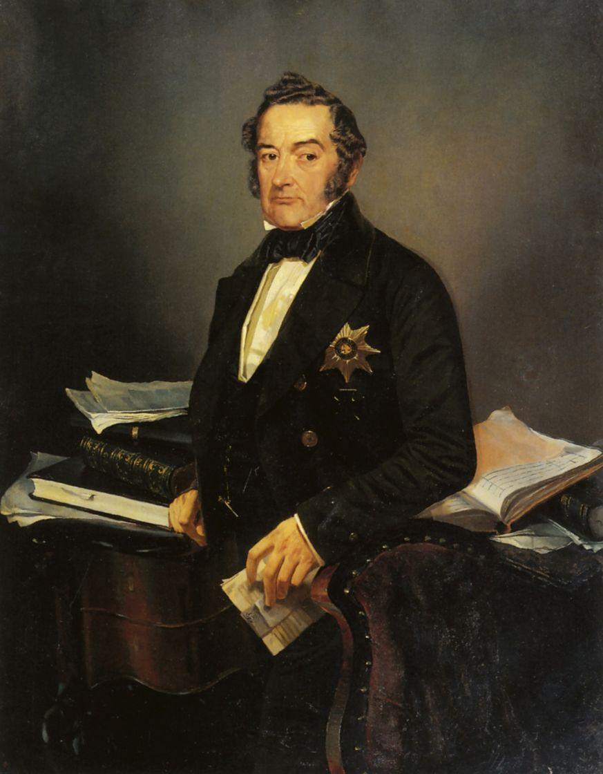Михаил Александрович Зичи. Портрет И. Н. Толстого