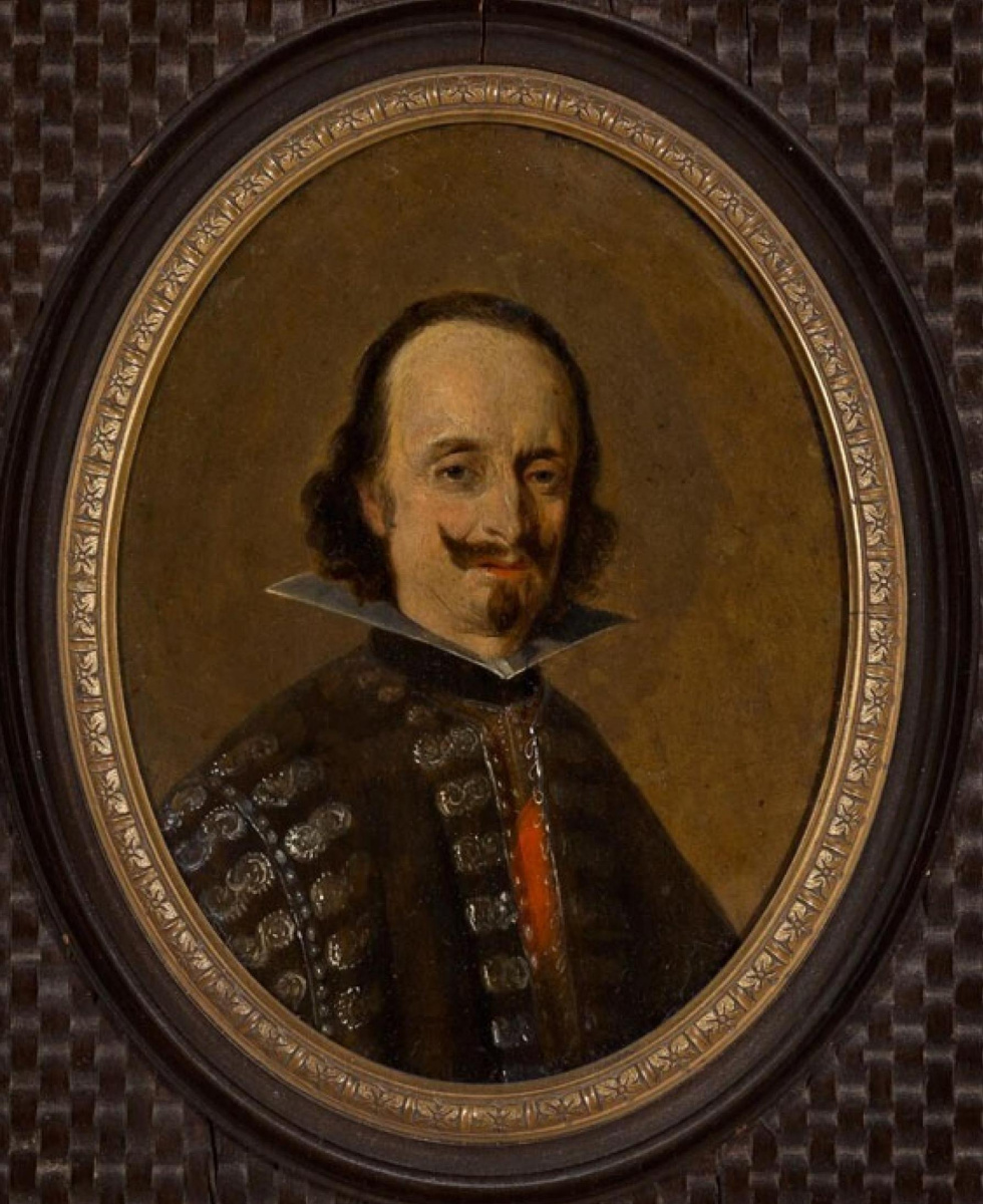 Gerard Terborch (ter Borch). Portrait of Don Caspar de Bracamonte and Guzmán, Count of Penerand