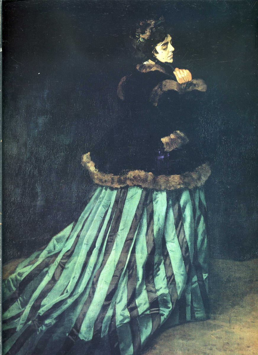 Camille Or The Portrait Of A Lady In A Green Dress By
