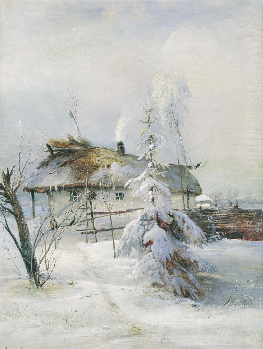 Алексей Кондратьевич Саврасов. Зима