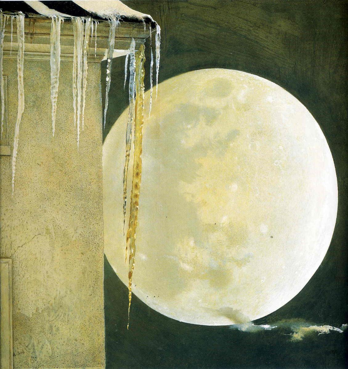 Andrew Wyeth. Moonlight madness