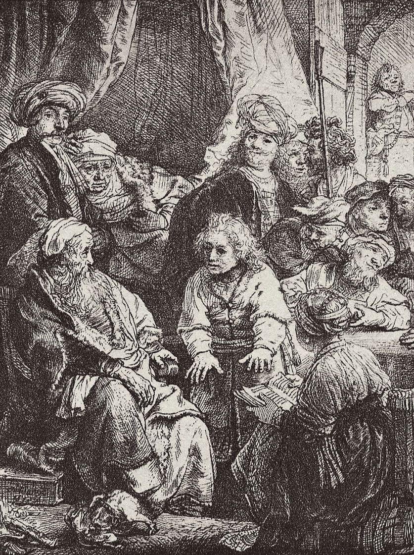 Рембрандт Ван Рейн. Иосиф, рассказывающий сны
