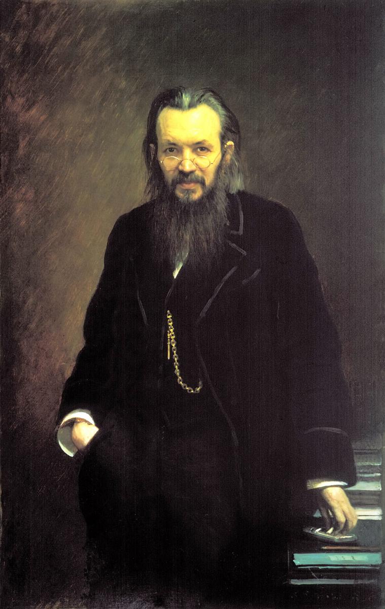Иван Николаевич Крамской. Портрет издателя и публициста Алексея Сергеевича Суворина