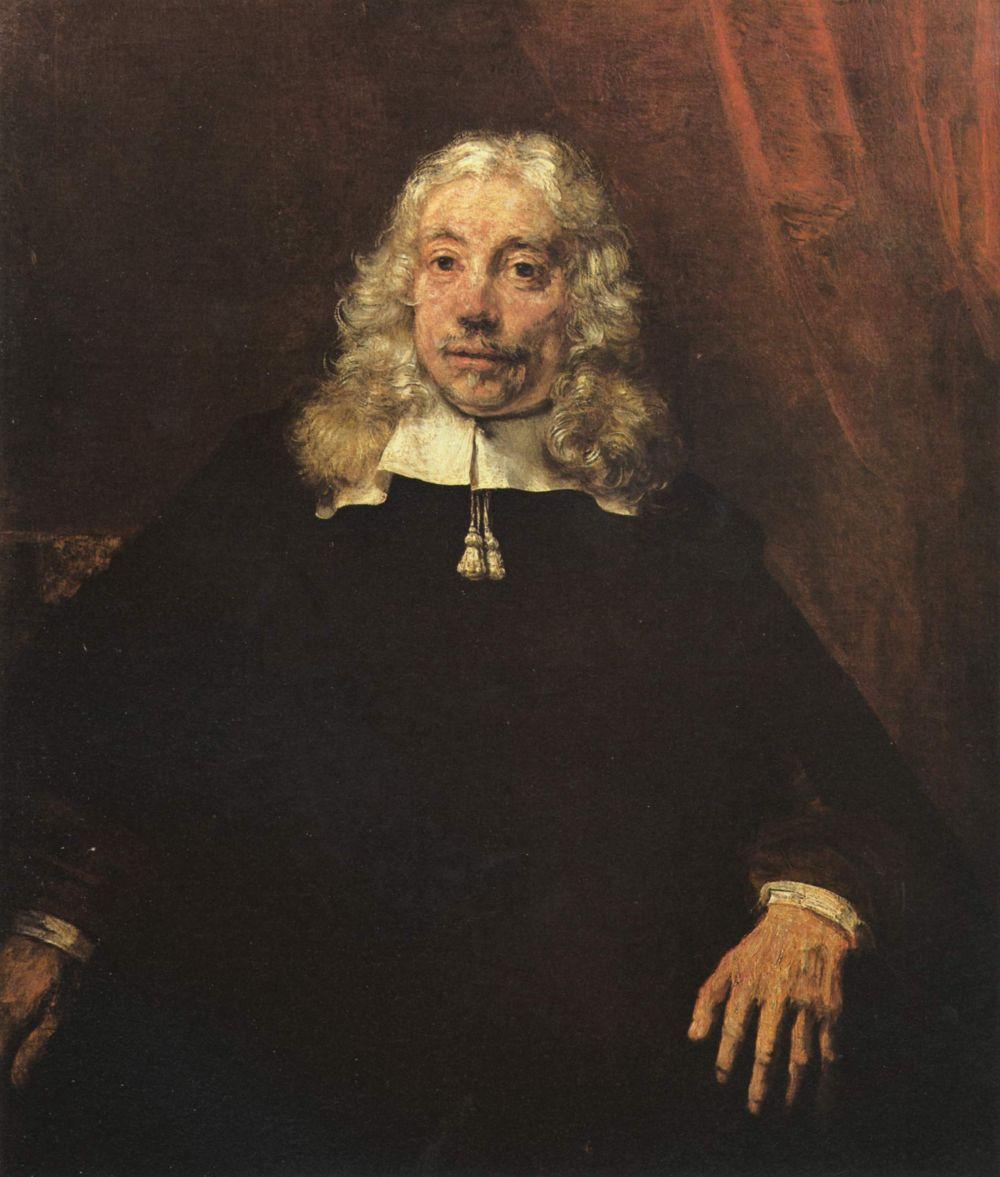Рембрандт Ван Рейн. Портрет светловолосого мужчины