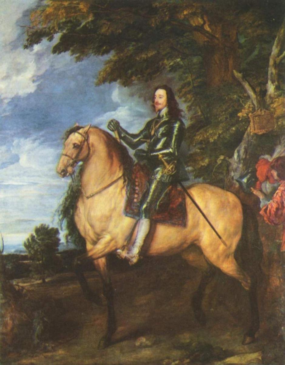 Антонис ван Дейк. Портрет короля Англии Карла I верхом