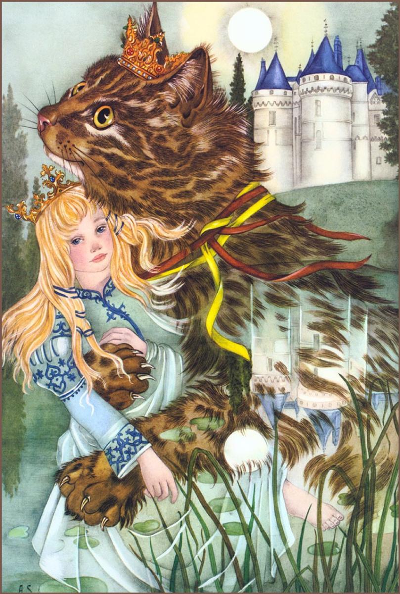 Адриенн Сегур. Кип-заколдованный кот