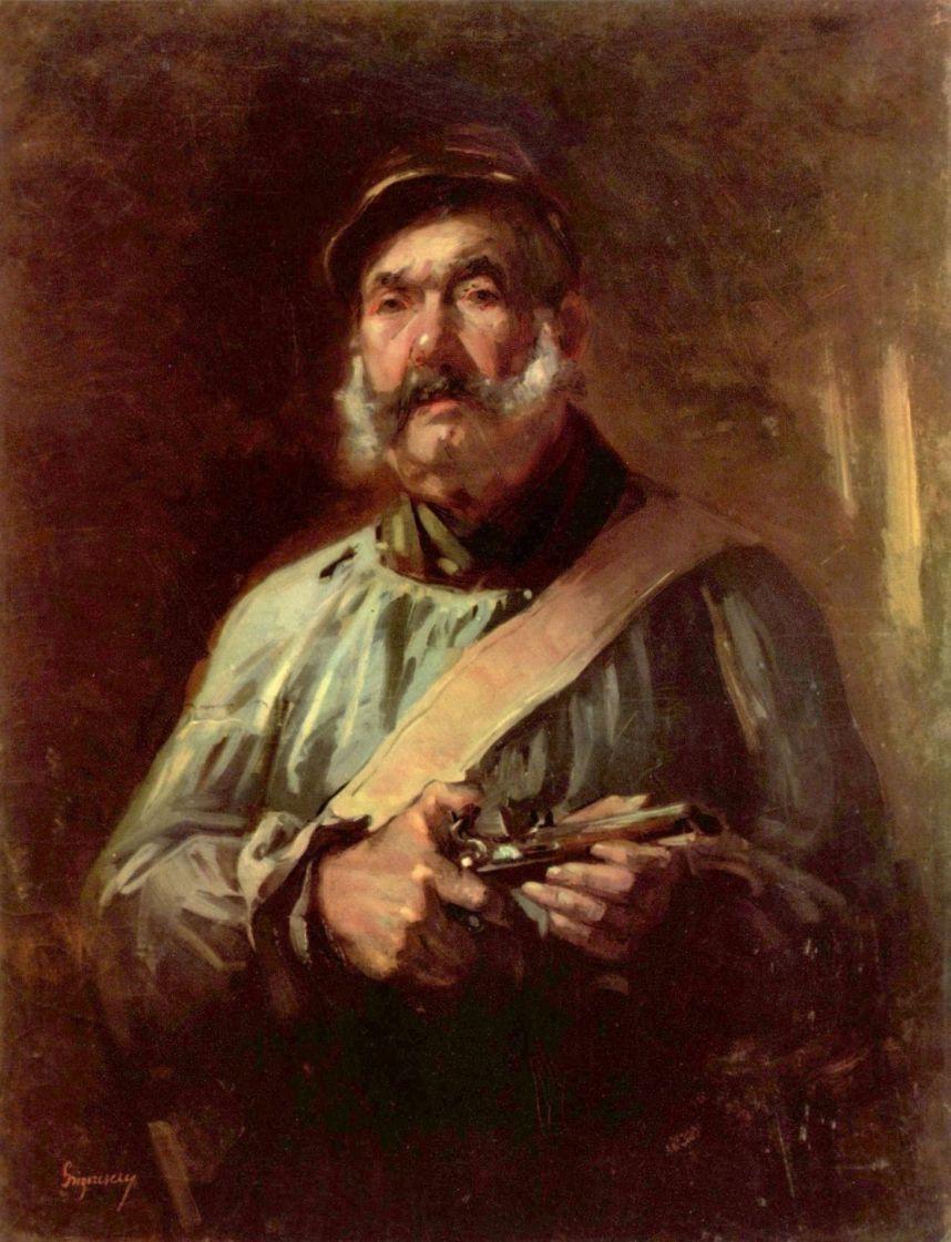 Николае Григореску. Сторож из Шайи